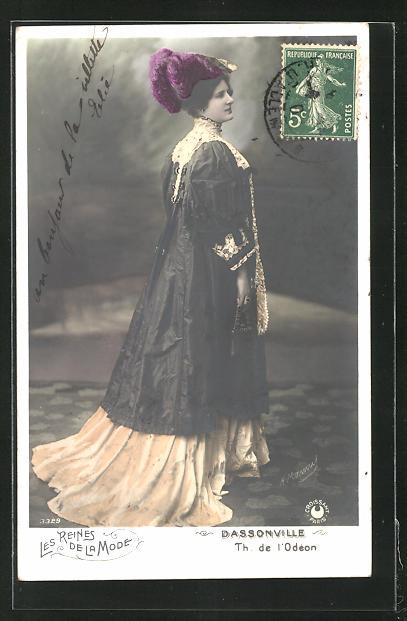 AK Les Reines de la Mode, Dassonville, Th. de l`Odéon