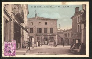 AK St-Just-sur-Loire, Place de la Mairie