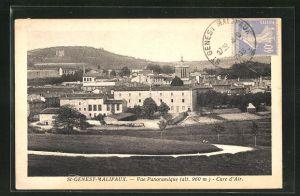 AK St-Genest-Malifaux, Vue Panoramique, Cure d`Air