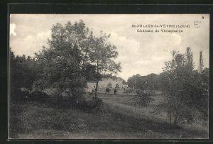 AK St-Julien-la-Vetre, Chateau de Villechaize