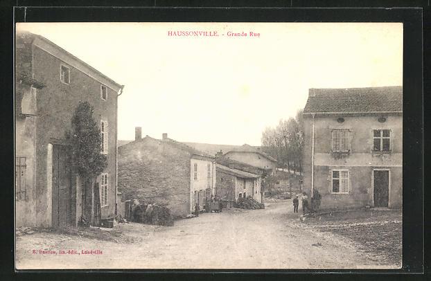 AK Haussonville, Grande Rue