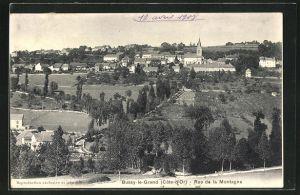 AK Bussy-le-Grand, Rue de la Montagne