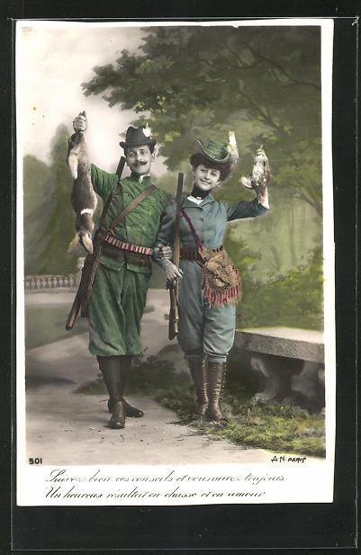AK Jäger und Jägerin zeigen Ihre Beute 0