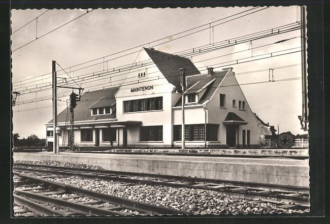 AK Maintenon, La nouvelle gare, Bahnhof 0