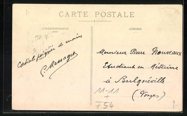 AK Nancy, Catastrophe de Chemin de fer du 12 Septembre 1911 1