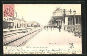 AK Sens, Le quai de la Gare