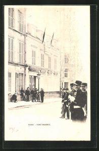 AK Paris, Fort Chabrol, Antisemitismus