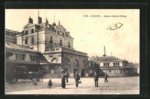 AK Dijon, Gare Dijon-Ville, Bahnhof