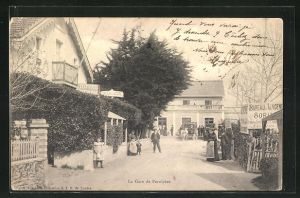 AK Pornichet, La Gare, Blick zum Bahnhof