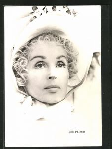 AK Schauspielerin Lilli Palmer in dem Film Lotte in Weimar
