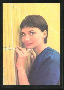 AK Schauspielerin Anna Prucnal spielte u.a. im Film Der fliegende Holländer