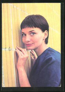 AK Schauspielerin Anna Prucnal spielte u.a. im Film Sonne und Schatten