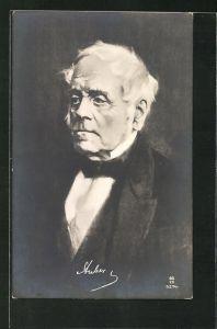 AK Der Komponist Auber im Anzug