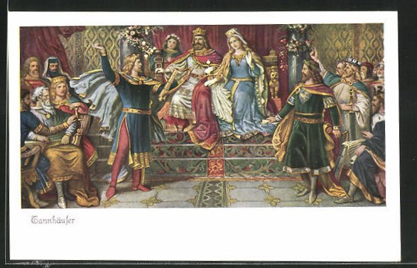 AK Tannhäuser singt vor dem König