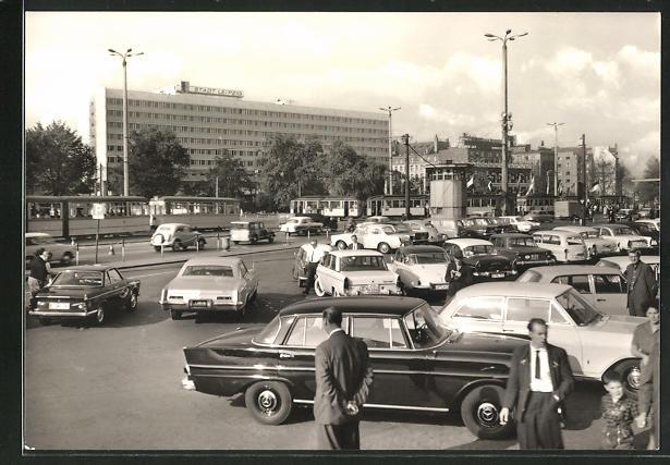 AK Leipzig, Hotel Stadt Leipzig und Autos