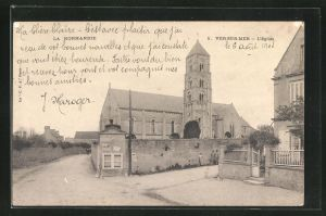 AK Ver-sur-Mer, l`eglise