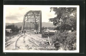 AK Ulua, Railway Bridge, National R.R. Hond.