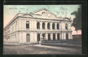 AK Santa Ana, Teatro, Ansicht vom Theater