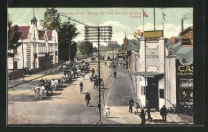 AK Pretoria, Pretorius Street, showing the Town Hall and Olympia