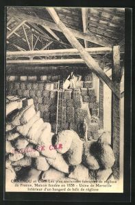 AK Marseille, Carenou et Cie, Les plus anciennes fabriques de reglisse de France
