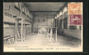 AK Paris-Passy, Pensionnat Secondaire Diocesain, Salle de Gymnastique