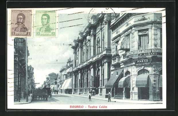 AK Rosario, Teatro Colon