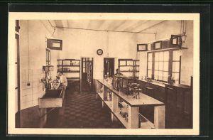 AK Kindia, Institute Pasteur, Le Laboratoire, Salle de Travail, Innenansicht
