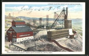 AK Butte, MO, Granite Mountain shaft, mining