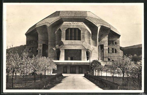 AK Dornach, Goetheanum , freie Hochschule für Geisteswissenschaft