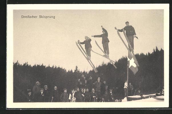 AK Schweiz, Dreifacher Skisprung