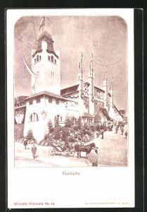 AK St. Gallen, Eidg. Schützenfest 1904, Festhütte