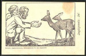 AK Schweizerischer Jagdschutzverein, Aktionskomitee für das Jagdgesetz, Helft dem Alter, helft den Tieren!