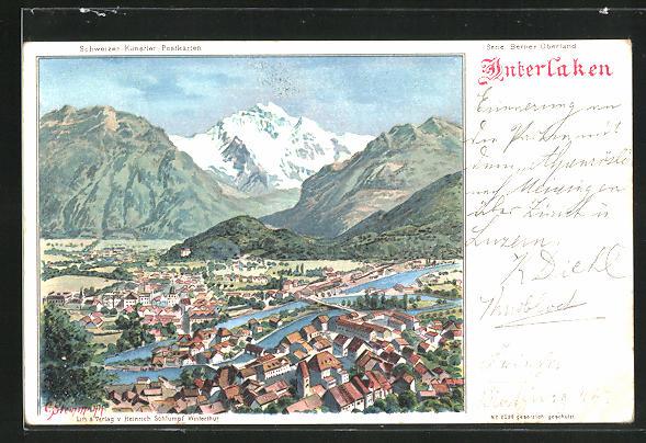AK Interlaken, Ortsansicht