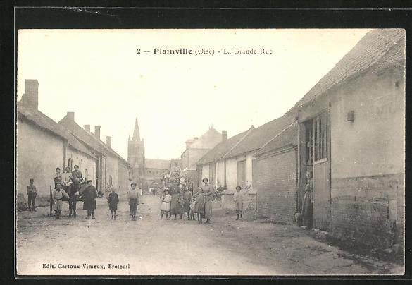 AK Plainville, la grande rue