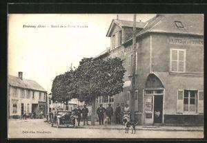AK Froissy, Hotel de la Croix Blanche