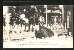 AK Creil, Me Bodin qui faillt deux fois etre fusille, 2. septembre 1914