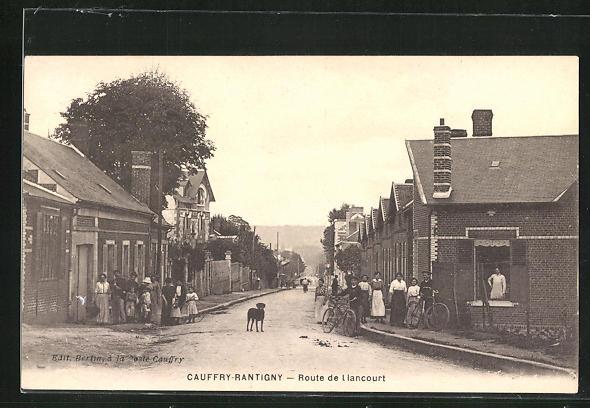 AK Cauffry-Rantigny, route de liancourt
