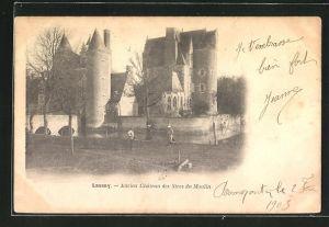 AK Lassay, Ancien Chateau des Sires du Moulin