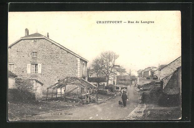 AK Chauffourt, rue de langres