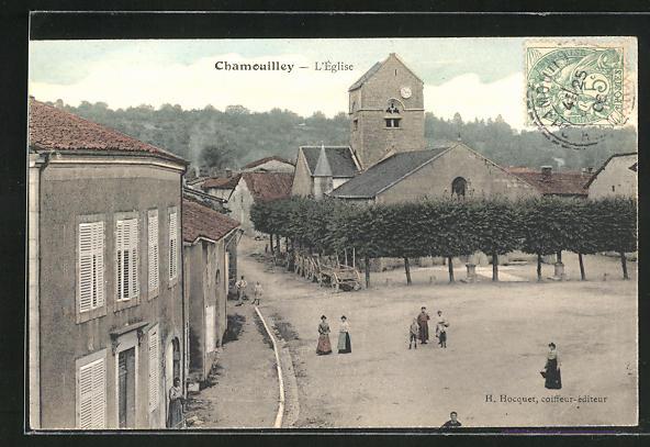 AK Chamouilley, l`eglise