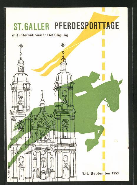AK St. Gallen, Pferdesporttage 1953