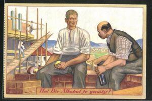 AK Hat Dir Alkohol je genützt?, Verband Volksaufklärung über den Alkoholismus, Anti-Alkohol