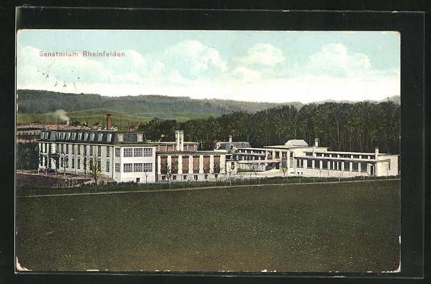 AK Rheinfelden, Totalansicht vom Sanatorium