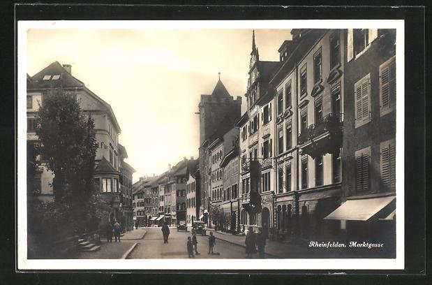 AK Rheinfelden, Marktgasse