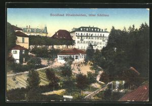 AK Rheinfelden, Soolbad u. Hotel Schützen