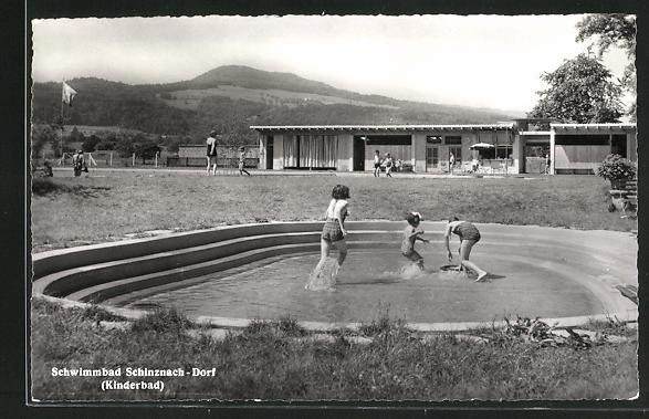 AK Schinznach-Dorf, Schwimmbad, Kinderbad