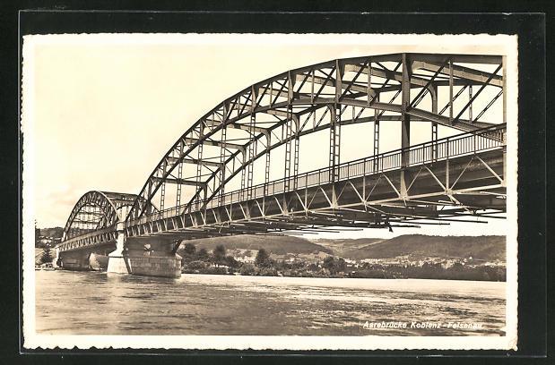 AK Koblenz-Felsenau, Aarebrücke