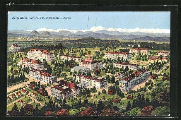 AK Aarau, Aargauische kantonale Krankenanstalt