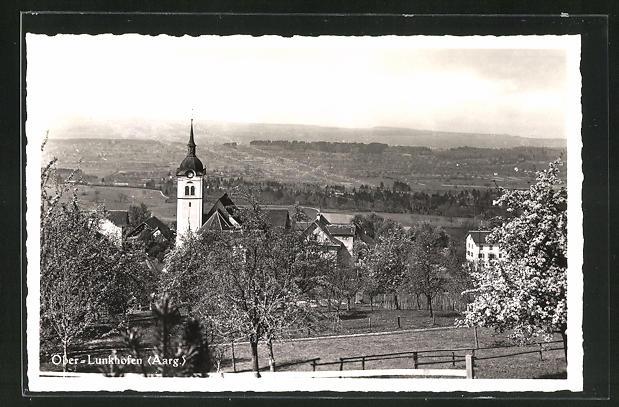 AK Ober-Lunkhofen, Ortspartie