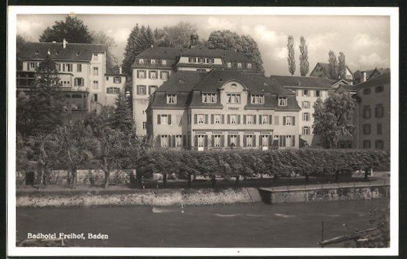 AK Baden, Badhotel Freihof